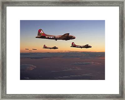 B17- A Winter's Tale Framed Print by Pat Speirs