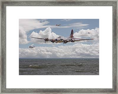 B17 The Hardest Mile Framed Print by Pat Speirs