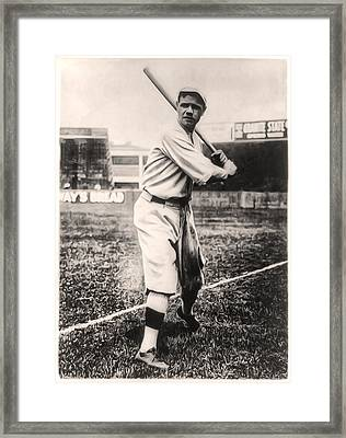 Babe Ruth Framed Print by Digital Reproductions