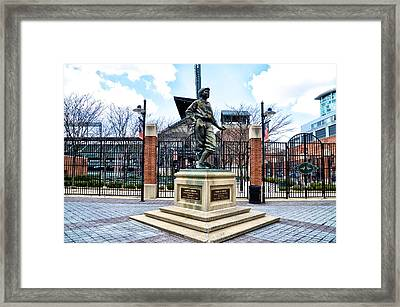 Babes Dream - Camden Yards Framed Print by Bill Cannon