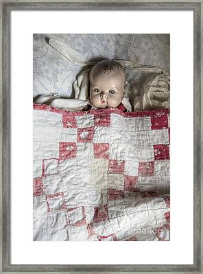 Baby Doll Framed Print by Margie Hurwich