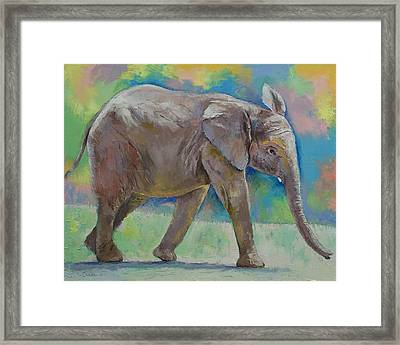 Angeline Framed Print by Michael Creese