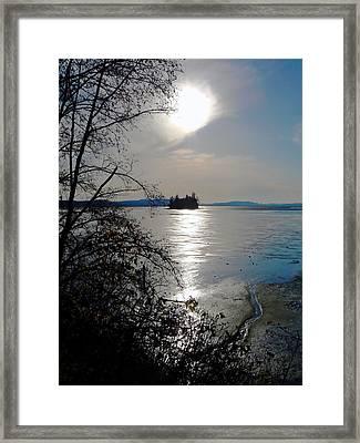 Baby Island Framed Print by Pamela Patch