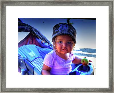 Baby You Lookin Good Framed Print by Lawrence Christopher