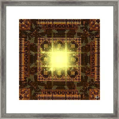 Babylon Framed Print by Anthony Weinedel