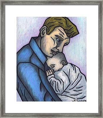 Baby's Lullaby Framed Print by Kamil Swiatek