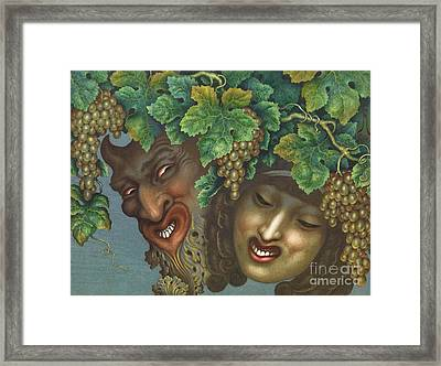 Bacchanalia Framed Print by Pg Reproductions
