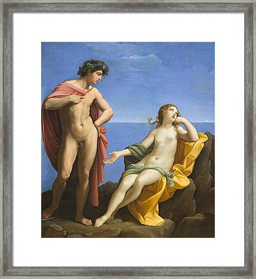 Bacchus And Ariadne Framed Print by Guido Reni