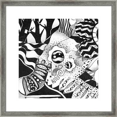 Back And Forth Framed Print by Helena Tiainen