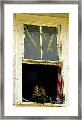 Back From Iraq Framed Print by Joe Jake Pratt