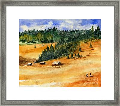 Back Home Framed Print by Marilyn Smith
