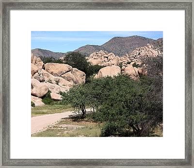 Back In The Canyon Again Framed Print by Joe Kozlowski