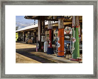 Back In The Day Framed Print by Heather Applegate