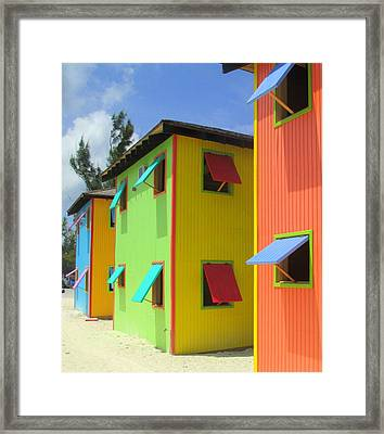 Back Of Cabins 2 Framed Print by Randall Weidner