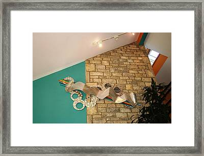 Back Of The Wind Framed Print by Mac Worthington