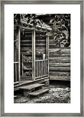 Back Porch Framed Print by Patrick M Lynch