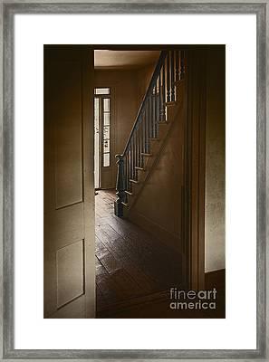 Back Stairway Framed Print by Margie Hurwich