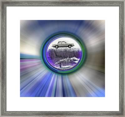 Back To 1990 - Framed Aries Framed Print by Steve Ohlsen