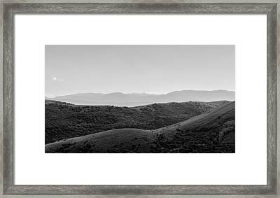 Back To Earth Framed Print by Andrea Mazzocchetti