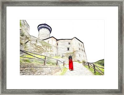 Back To Home Framed Print by Michal Boubin