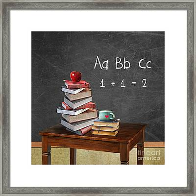 Back To School Framed Print by Juli Scalzi