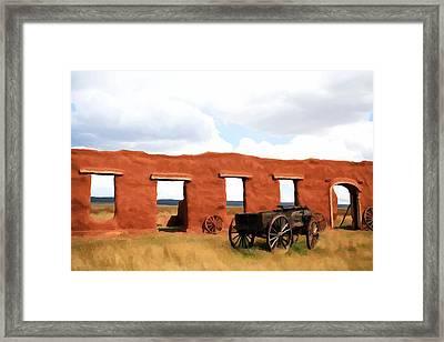 Back When Framed Print by Jim Buchanan