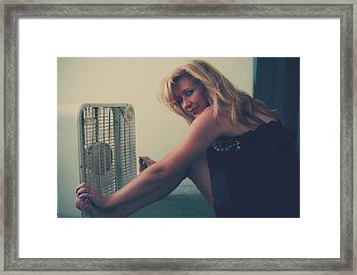 Back When There Were Heatwaves Framed Print by Laurie Search
