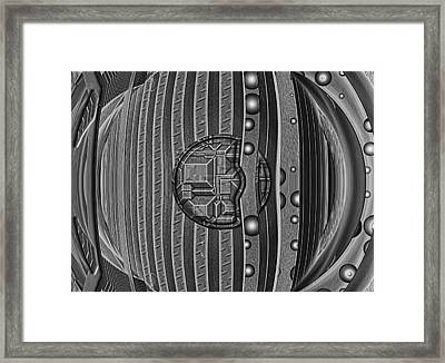 Backbeat Framed Print by Wendy J St Christopher