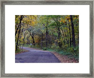 Backroads Framed Print by Wild Thing