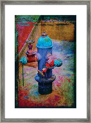 Backstreets Vi Framed Print by Bill Jonas