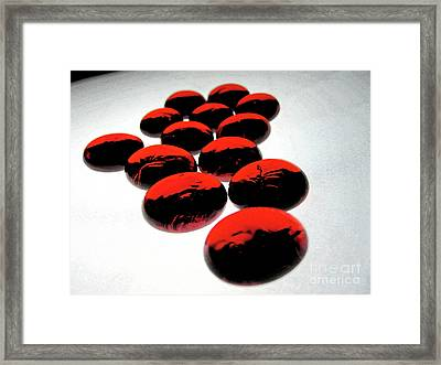 Bad Love Framed Print by Molly McPherson