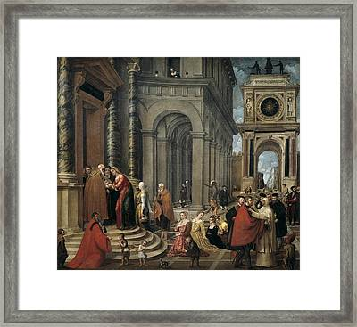 Badile, Antonio 1518-1560. Presentation Framed Print by Everett