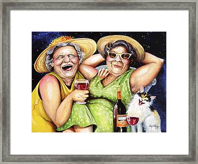 Bahama Mamas Framed Print by Shelly Wilkerson