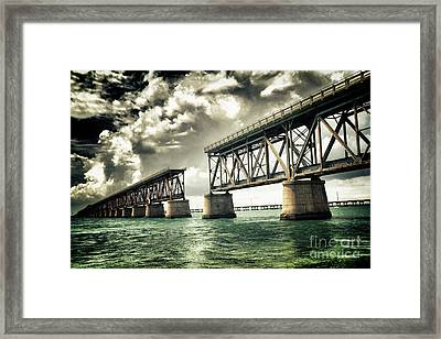 Bahia Honda Bridge Framed Print by Scott Bert