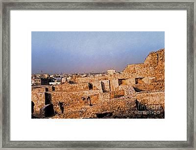 Bahrain Fort  Framed Print by First Star Art