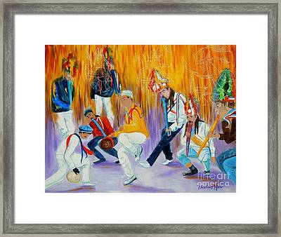 Baileys Chinos Santiago Chile Framed Print by Pauline Ross
