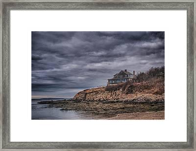 Bailey's Island 14342c Framed Print by Guy Whiteley