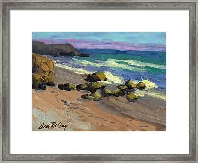 Baja Beach Framed Print by Diane McClary