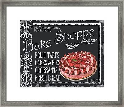 Bake Shoppe Framed Print by Debbie DeWitt