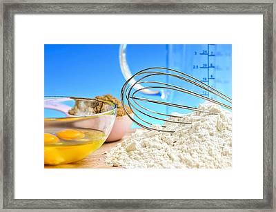 Baking Framed Print by Elena Elisseeva
