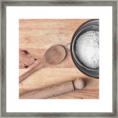 Baking  Framed Print by Tom Gowanlock