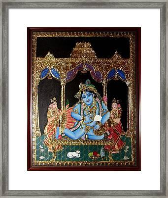 Balakrishna Framed Print by Jayashree