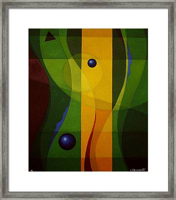 Balance Framed Print by Alberto D-Assumpcao