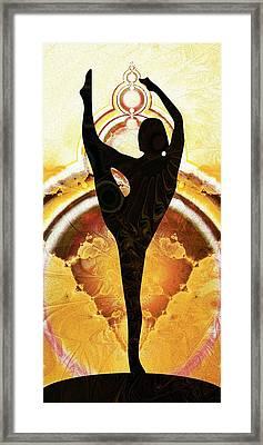 Balance Framed Print by Anastasiya Malakhova