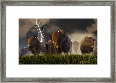 Balance Of Power Framed Print by Dieter Carlton