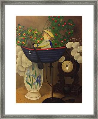 Balance Of Time Framed Print by Tammy Powell