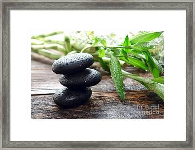 Balance  Framed Print by Olivier Le Queinec