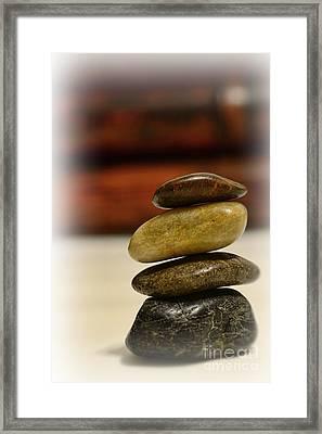 Balanced Framed Print by Paul Ward