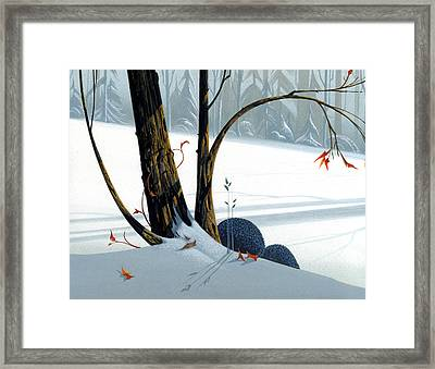 Balancing Act  Framed Print by Michael Humphries