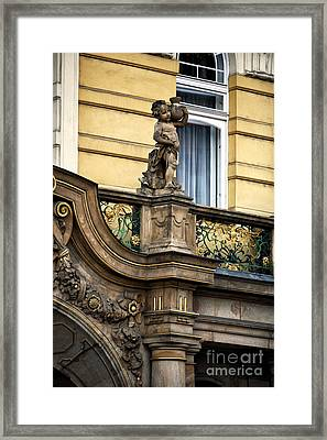 Balcony Design Framed Print by John Rizzuto